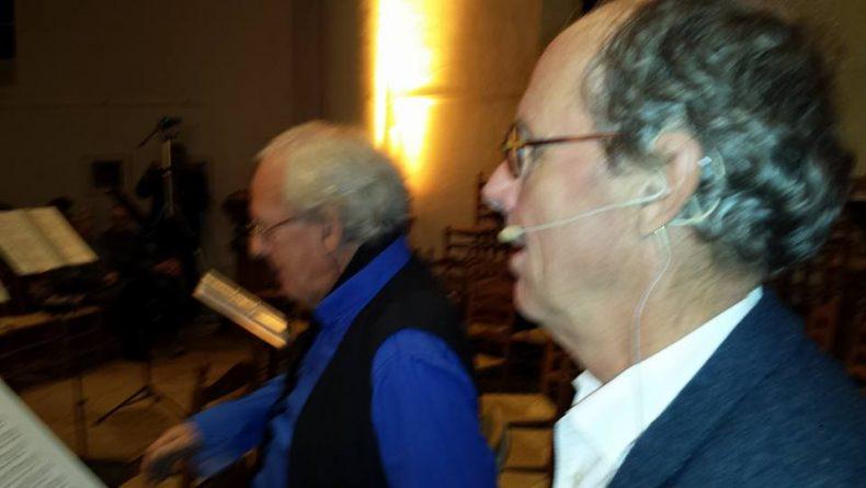 'In Vervoering' Optreden samen met het koor sWing
