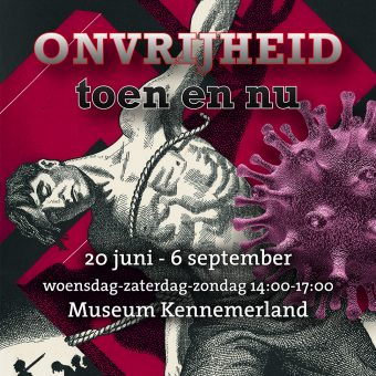 'Kom vanavond met verhalen' via you tube ter gelegenheid tentoonstelling in Museum Kennemerland 'Onvrijheid toen en nu'